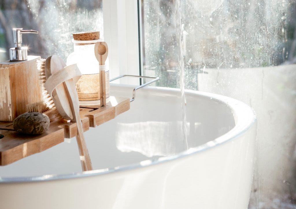 Eco friendly bathroom - bathtub