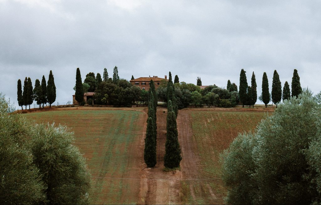 Gladiator house, Tuscan countryside