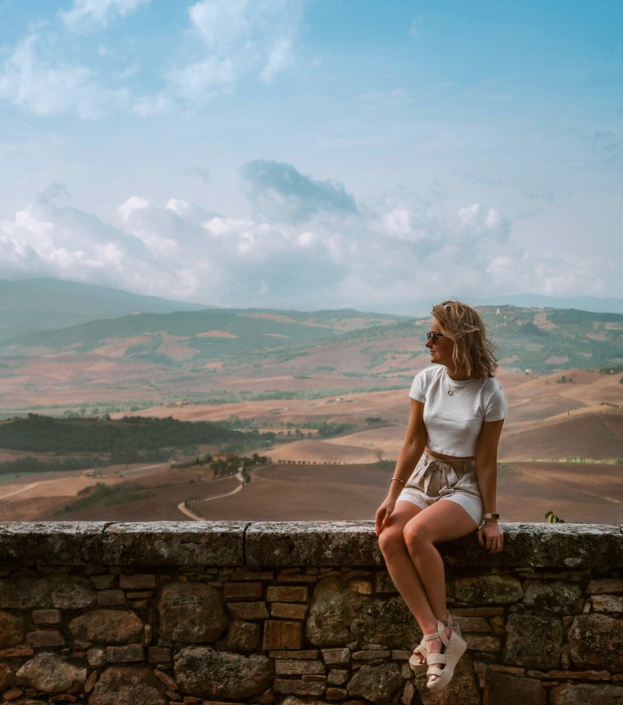 Views of Val d'Orcia, Tuscany