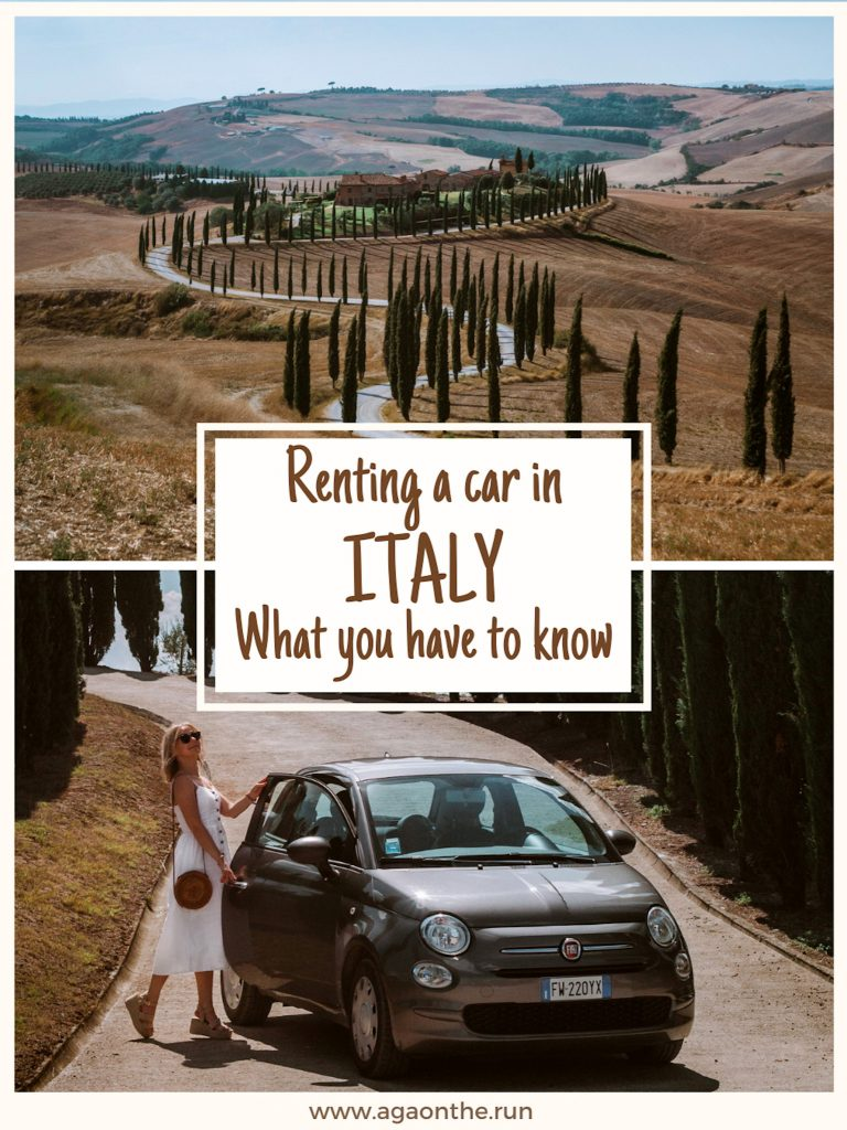 Renting a car in Italy - Pinterest