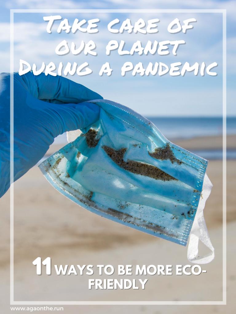 Eco-friendly pandemic - Pin