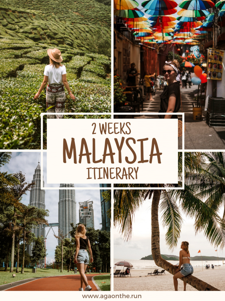 Malaysia Itinerary - Pin for later