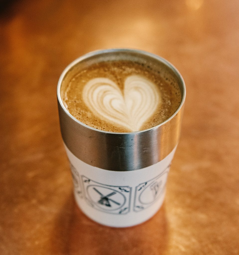 Eco-friendly pandemic - reusable coffee cup