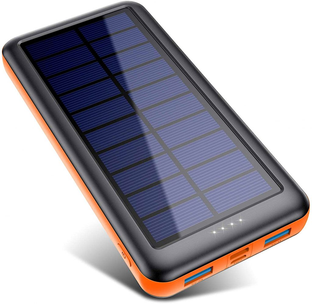 Eco friendly gift ideas - solar charger