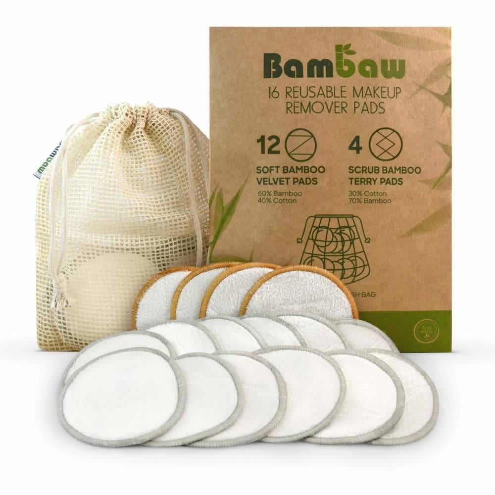 Bamboo make-up pads