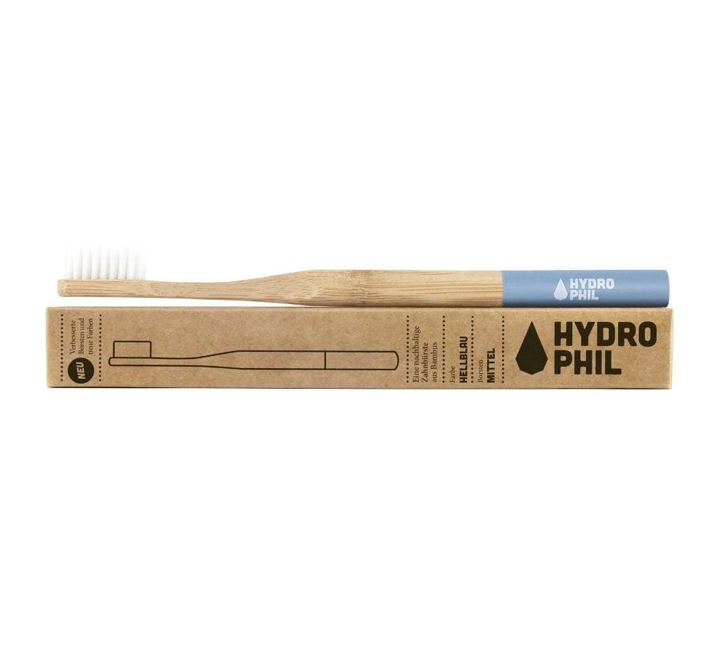 Use less plastic - bamboo toothbrush