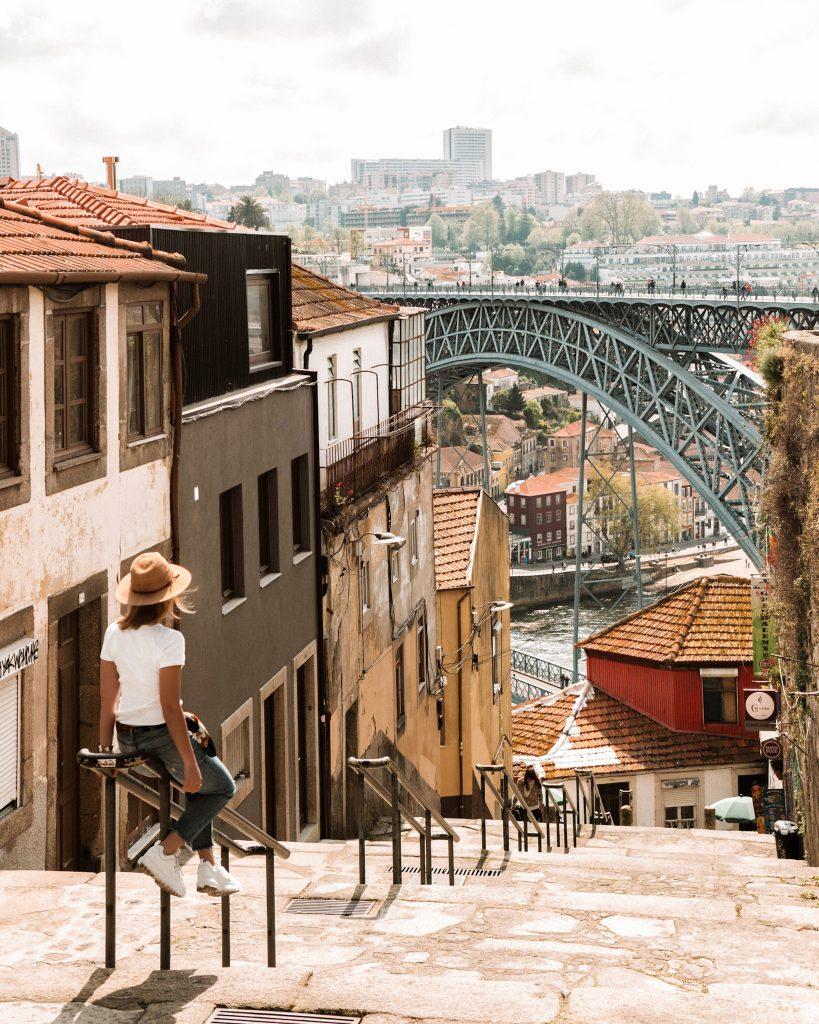 Porto City Break - view of Luis Bridge