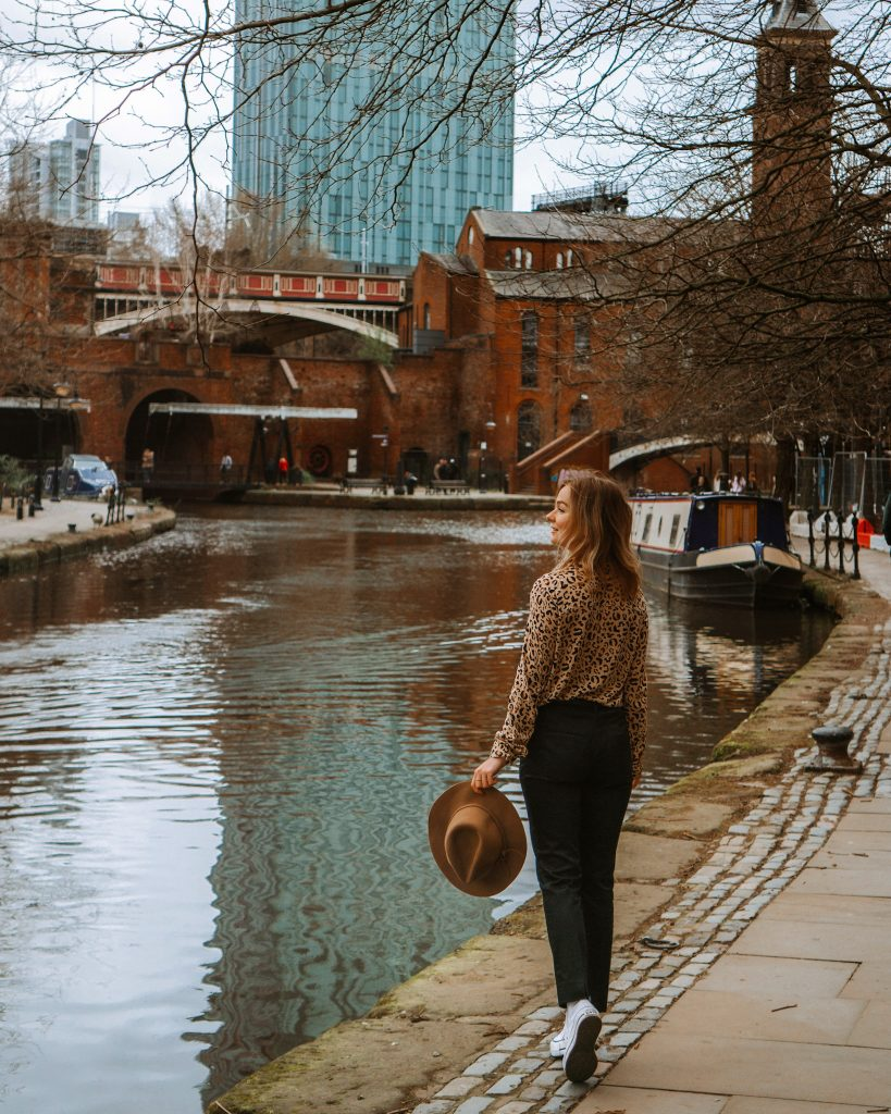 Castlefield in Manchester, UK
